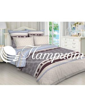КПБ 2.0 спальный с Евро простыней, набивная бязь 125 гм2 5069